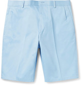 Thom Browne - Slim-fit Cotton-twill Shorts