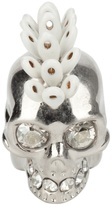 Alexander McQueen mohican skull ring