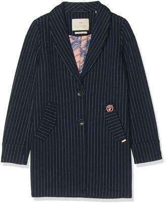 Scotch & Soda Girl's Tailored Jacket in Bonded Quality