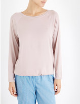 Calvin Klein Round neck jersey pyjama top