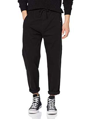 Superdry Men's Edit Taper Drawstring Pant Trouser, (Size: 32/30)