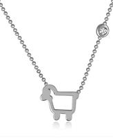 Julie Lamb Lamb Pendant Necklace - Sterling Silver