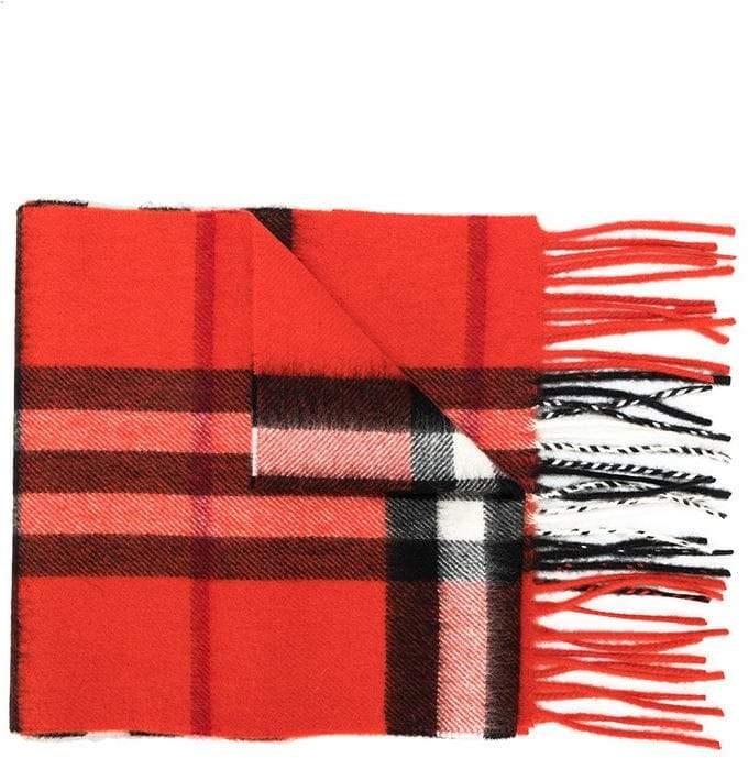 Burberry cashmere Haymarket scarf