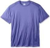Russell Athletic Men's Big-Tall Heather Performance Crew T-Shirt, Royal/Heather