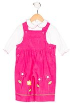 Florence Eiseman Girls' Corduroy Two-Piece Overall Set w/ Tags