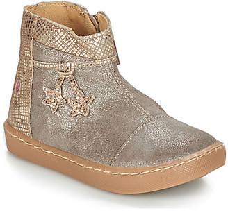 GBB RENEE girls's Mid Boots in Beige