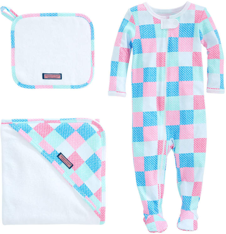 4387441e2f Baby Patchwork Bath To Bed Set