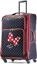 American Tourister Disney's Minnie Mouse Red Bow & Faces Spinner Luggage