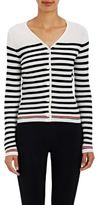 Thom Browne WOMEN'S WOOL CORRUGATED KNIT CARDIGAN SIZE 2