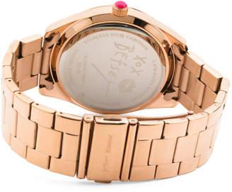 Women#39;s Butterfly Crystal Bezel Bracelet Watch
