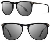 Shwood Men's Keller 53Mm Sunglasses - Black / Grey