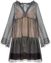 Stella McCartney Star-print silk-blend dress