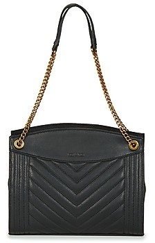 Nat & Nin SIMONE women's Shoulder Bag in Black