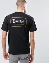Brixton T-shirt With Back Logo