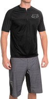 Fox Racing Ranger Cycling Jersey - Zip Neck, Short Sleeve (For Men)