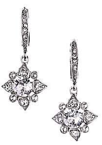 Oscar de la Renta Women's Delicate Star Crystal Drop Earrings