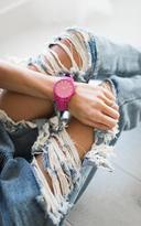 Ily Couture Modera Watch - Hot Pink