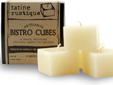 Tatine Candles Bistro Cubes set of 4