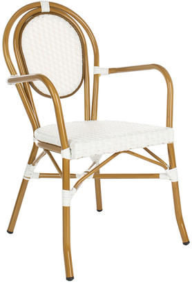 Safavieh Rosen French Bistro Stacking Arm Chair