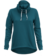 Soffe Midnight Teal Cowl Neck Pullover