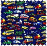 Camilla And Marc SheetWorld Vehicles Galore Fabric - By The Yard - 101.6 cm (44 inches)