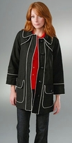 Marc by Marc Jacobs Solid Cotton Pique Jacket