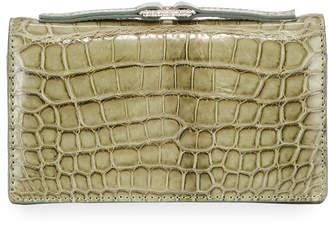 Valentino Garavani Exotic Alligator Clutch Bag