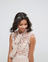 Asos Occasion Crystal Wire Hair Crown