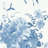 Designers Guild Amrapali Collection - Mehsama Wallpaper - P574/05 Indigo
