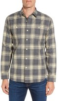 Grayers Men's Harrow Heritage Trim Fit Plaid Flannel Sport Shirt