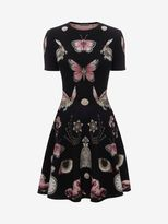 Alexander McQueen Obsession Volume Mini Dress