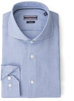 Tommy Hilfiger Tailored Collection Slim Fit End-On-End Shirt