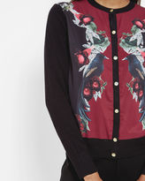ELORAY Bejewelled Shadows cardigan