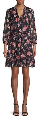 Supply & Demand Ruffled Floral Dress