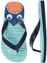 Gymboree Shark Flip Flops