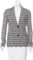 Missoni Knit Lightweight Blazer
