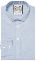 Thomas Pink Men's Solid Spread Dress Slim Fit Shirt