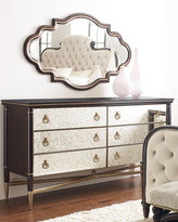 Caracole Everly Mirrored Double Dresser
