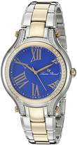 Lucien Piccard Women's LP-16353-SG-33 Elisia Analog Display Quartz Two Tone Watch