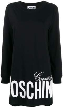 Moschino sweatshirt dress