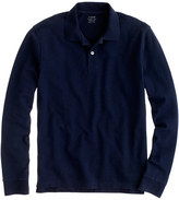 J.Crew Slim long-sleeve classic piqué polo shirt