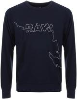 G Star Raw Ootim Sweatshirt Blue