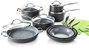 Green Pan Valencia Pro 13-Piece Cookware Set + Bonus - 100% Exclusive