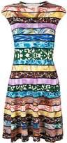 Mary Katrantzou colour-block mini dress