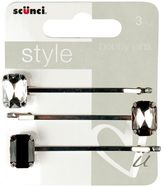 Scunci Style Mixed Gem Bobby Pins 3s