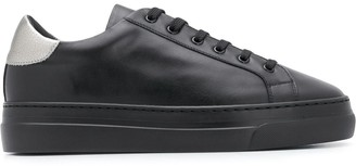 Doucal's Lace-Up Low-Top Sneakers