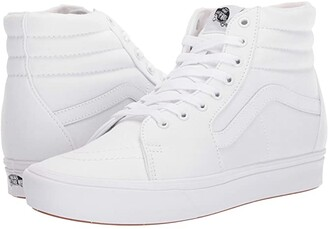 Vans ComfyCush SK8-Hi ((Classic) True White/True White) Athletic Shoes