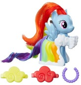 My Little Pony Runway Fashions Set with Rainbow Dash figure