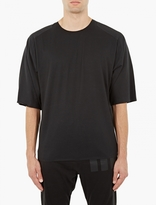 Y-3 Black Oversized Cotton T-shirt