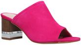 KG by Kurt Geiger Hector Mule Block Heeled Sandals, Pink